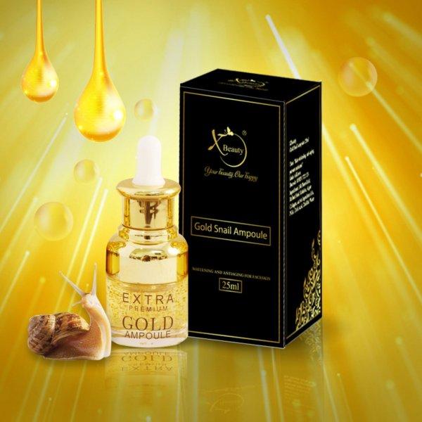8938511722123 Serum Ốc Sên Perfect Skin Care XBeauty Gold Snail Ampoule 20ml Hàn Quốc - Chăm sóc da hoàn hảo