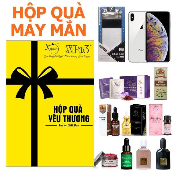 8938511722185 Hộp quà ngẫu nhiên may mắn Lucky Gift Box XBeauty. Mua là có quà, cơ hội trúng ngay iPhone XS, Sạc dự phòng, và hàng trăm sản phẩm khác