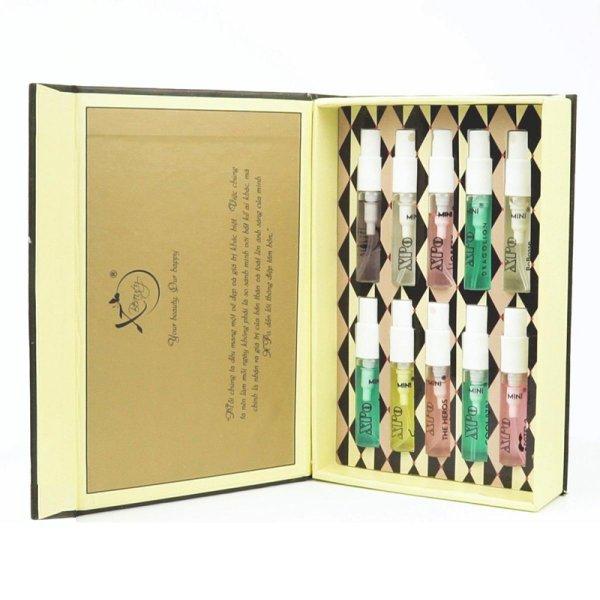8938511722017 Nước hoa Nữ XBeauty Combo Mini Set (10 chai 4ml) - Nước hoa thơm lâu cả ngày