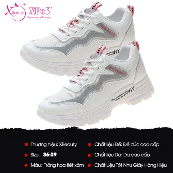 8938511722536 XBeauty Color OS White Sneaker - Size 36 - Size 36
